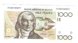 1000 Fr - Grétry - AUNC - 1000 Francos