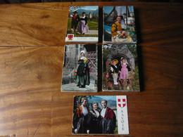 LOT DE 150 CARTES MODERNES FOLKLORE, COSTUMES FRANCAIS ET ETRANGERS - 100 - 499 Postcards