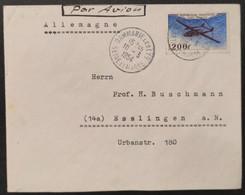 Poste Aérienne N° 31 Avec Oblitération Cachet à Date De 1954 Sur Lettre  TB - 1927-1959 Brieven & Documenten