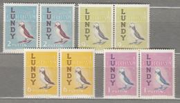 BIRDS LUNDY Puffin Pairs MNH (**)  #22406 - Ohne Zuordnung
