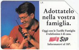 ITALY C-820 Magnetic SIP - Communication, Mobile Phone Exp. 31.12.95 - Used - Public Ordinary
