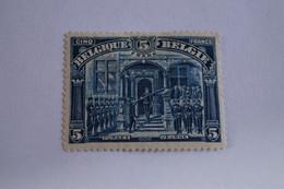 Franken,Belgique , Timbre Veurne De 5 Francs , OBP 147 ,Neuf Avec Gomme,petite Trace De Charnière ( Minime) - 1915-1920 Albert I