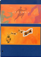 TIMBRE FRANCE REF170321, BLOC SOUVENIR 2, Jeux Olympiques D'Athènes 2004 - Foglietti Commemorativi