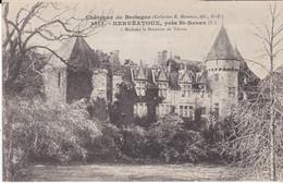 CPA  CHATEAUX DE BRETAGNE KERVEATOUX PRES ST RENAN A MADAME LA BARONNE DE TAISNE - Other Municipalities