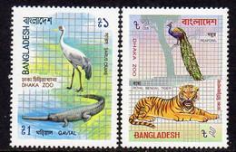Bangladesh 1984 Dhaka Zoo, Birds ,Tiger, Set Of 2, MNH, SG 235/6 (F) - Bangladesh