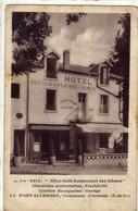 Hotel Café  Restaurant Des  DOMES  La FONT DE L'ARBRE Commune D'ORCINES - Otros Municipios