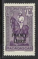 MADAGASCAR 1943 YT 250** - SANS CHARNIERE NI TRACE - Nuevos