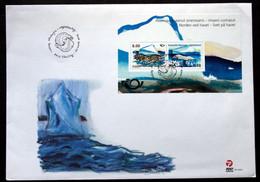 Greenland 2012 NORDEN    Minr.609-10 Block 59 FDC    ( Lot 6374 ) - FDC