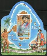 Wallis Et Futuna - 2007 - Bloc Feuillet Neuf - Découverte D'Uvéa Par Samuel Wallis - Cote 4,50 Euros - Nuevos