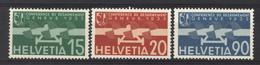 0ch  0721 -  Avion  -  Suisse  :  Mi  256-58   Yv  16-18  * - Ongebruikt