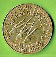 AFRIQUE EQUATORIALE / CAMEROUN / 5 FRANCS / 1962 - Cameroon