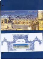 TIMBRE FRANCE REF170321, BLOC SOUVENIR 14 AVEC ETUI, Le Plus Beau Timbre De L'année 2005 NANCY, NEUF - Foglietti Commemorativi