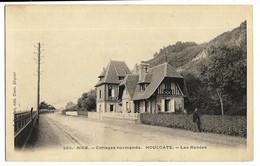 HOULGATE (14) Nice - Cottages Normands Les Ronces Ed. Bréchet 265, Dos Simple - Houlgate
