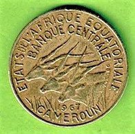 AFRIQUE EQUATORIALE / CAMEROUN / 5 FRANCS / 1967 - Cameroon