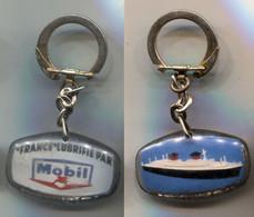 Porte-clefs Paquebot France Lubrifié Par Mobll - Key-rings