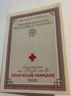 CROIX ROUGE 1958 - Cruz Roja