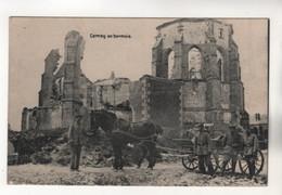 +4521, WK I, Feldpost, Cernay-en-Dormois, Département Marne - Guerre 1914-18