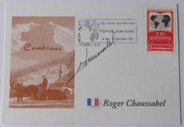 Roger CHAUSSABEL - Signé / Dédicace Authentique / Autographe - Cycling