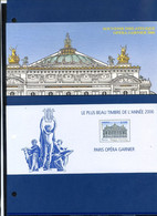 TIMBRE FRANCE REF170321, BLOC SOUVENIR 24 AVEC ETUI, Le Plus Beau Timbre De L'année 2006, OPERA GARNIER 2006, NEUF - Foglietti Commemorativi
