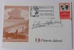 Vittorio ADORNI - Signé / Dédicace Authentique / Autographe - Cycling