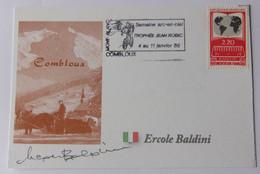 Ercole BALDINI - Signé / Dédicace Authentique / Autographe - Cycling