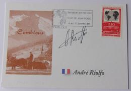 André RIOLFO - Signé / Dédicace Authentique / Autographe - Cycling