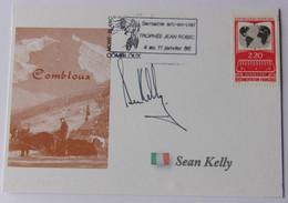 Sean KELLY - Signé / Dédicace Authentique / Autographe - Cycling