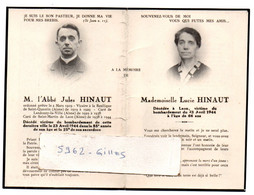 02 AISNE LAON LANDOUZY-LA-VILLE VICTIMES BOMBARDEMENT 1944 - Historical Documents