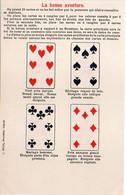 Cartes à Jouer - Série De 6 CPA - La Bonne Aventure - Sept, Huit, Neuf, Dix, Valets, Dames   (6006 ASO) - Carte Da Gioco