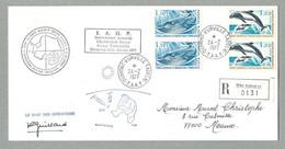 1977 TAAF / FSAT PLI IAGP FORAGE TERRE ADÉLIE SIGNÉ ROBERT GUILLARD - Covers & Documents