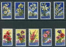 San Marino MiNr. 567-76 Postfrisch MNH Blumen (Blu565 - Ohne Zuordnung