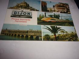 CPA CPSM  21 COTE D OR DIJON  PLAQUE TOURNANTE FERROVIERE - Dijon