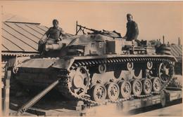 Foto WK II - Panzer In Gleisdorf (Steiermark) - 1940 - Weltkrieg 1939-45