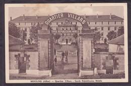 03  MOULINS  Quartier Villars  Garde Républicaine Mobile  1936 - Moulins