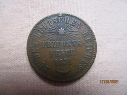 Bade: 1 Kreuzer 1871  Friedens Feier - Petites Monnaies & Autres Subdivisions