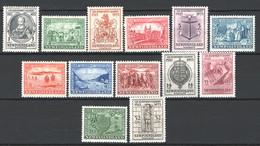 Terranova/Newfoundland 1933 Y.T.187/98,200 */MH VF/F - 1908-1947