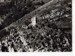09 En Avion Au Dessus De SAURAT La Tour Pentagonale De Monforgueil - Other Municipalities