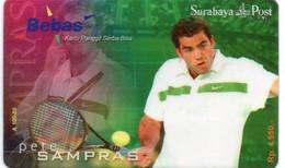 INDONESIA - BEBAS - PETE SAMPRAS - THEMATIC SPORT TENNIS - Indonesia