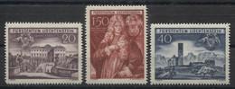 LIECHTENSTEIN - 1949 Annessione Dello Schellenberg  Mi.281/83 - Serie Cpl. 3v. Nuovi** Perfetti - Air Post
