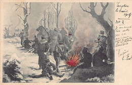 JAPAN - Russo Japanese War - Japanese Troops Bivouac - Unclassified