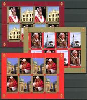 Vatikan Kleinbogensatz MiNr. 1573 - 1575 Postfrisch MNH Benedikt XVI. (T354 - Ohne Zuordnung