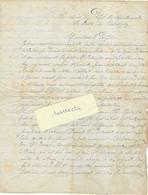 1890 / Lettre Au Préfet / Dénonciation Orchamps-Vennes / Agissements Maire Et Conseil Municipal - 1800 – 1899