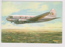 Vintage Rppc SAM Società Aerea Mediterranea Curtiss C-46F Aircraft - 1919-1938: Fra Le Due Guerre