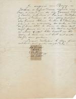 1882 / Reçu De Vve BOIGEY à Guyans-Durnes / Gannard De Lavans-Vuillafans / 25 Doubs - 1800 – 1899