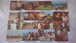 """""""Vos Gueules Les Mouettes"""" R. Dhéry """"les Branquignoles"""" ( 1963) Pochette Complète 16 Photos 23x30 NEUVES - Fotos"""