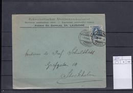 Schweiz Michel Cat.No. Cover 81 Single - Briefe U. Dokumente
