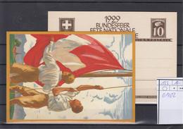 Schweiz Michel Cat.No. Postal Stat P133 01/02 Unused - Stamped Stationery