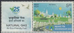 INDIA, 2020, MY STAMP,  Natural Gas, Mahanagar, Eco Friendly,  MNH, (**) - Nuovi