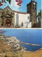 Canaries - La Palma - Lot 4 Cartes Santa Cruz De La Palma - 3 Neuves, 1 écrite - La Palma