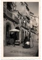 Menton 1951 Photo 6x9cm - Garage Automobile - 41 Quai Bonaparte Moto-velo Auto - Coches